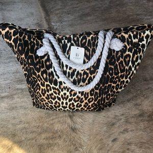 Handbags - Leopard Tote Bag